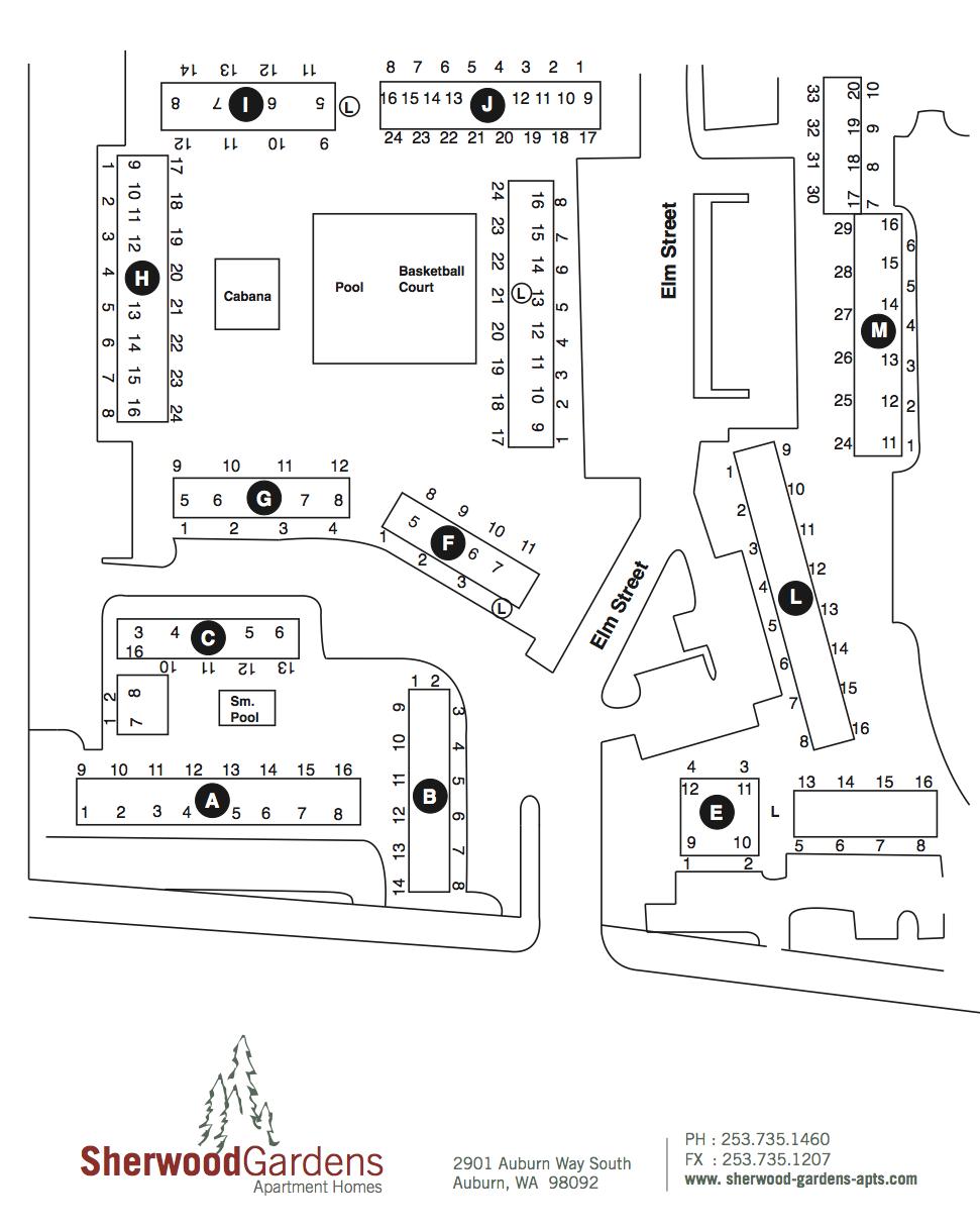 Sherwood-siteplan